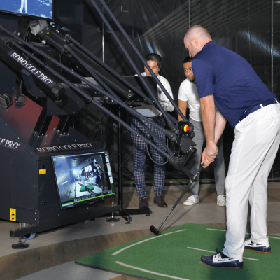 """RoboGolfPro® Uses V1 Sports for """"Instant"""" Progress in Robo-Powered Lessons"""