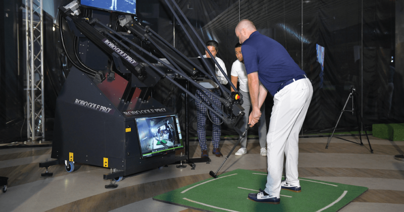 "RoboGolfPro® Uses V1 Sports for ""Instant"" Progress in Robo-Powered Lessons"