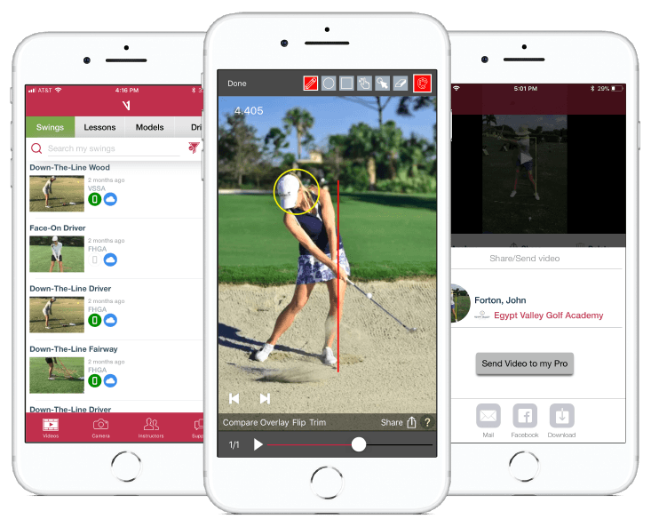 Golf Digest Editors' Choice Award: V1 Golf App