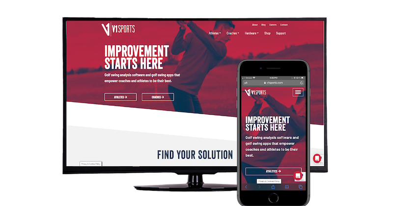 V1 Sports Unveils New Website to Better Support Surge In Demand