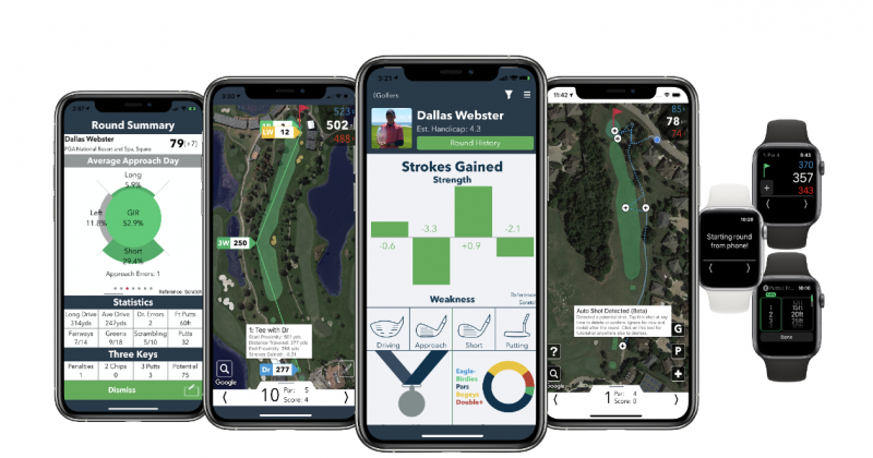 Let V1 Game Automatically Track Your Golf Round