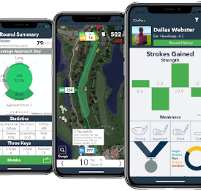 How To Track Golf Shots with the V1 Game App