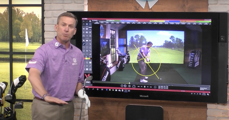 How Michael Breed Uses the V1 Golf App for More Consistent Golf Swings
