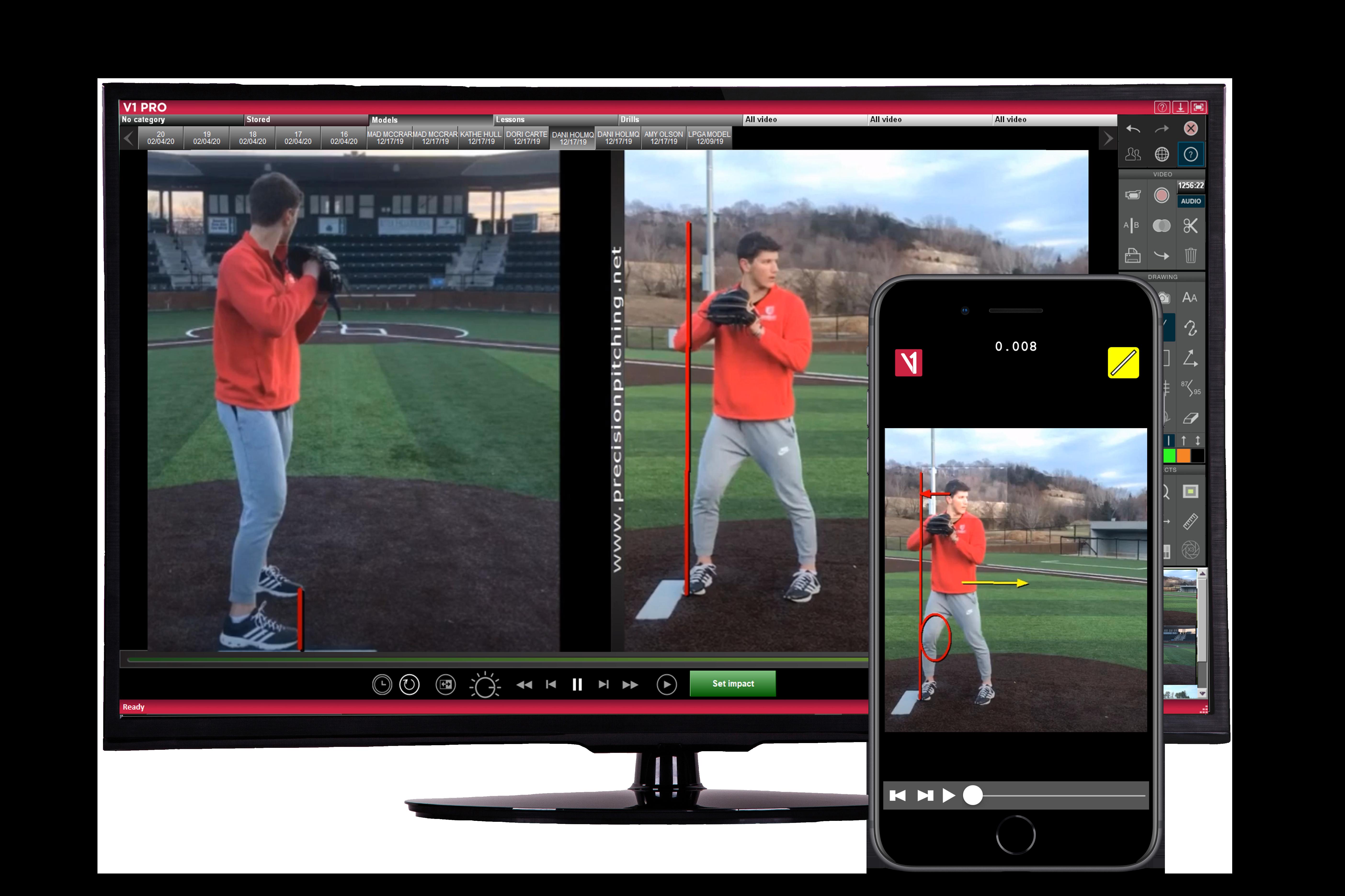 V1 Pro Baseball_Windows PC_V1 Pro App