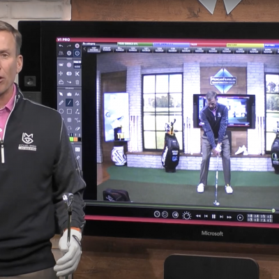 How Michael Breed Analyzes the Golf Club Face at Impact