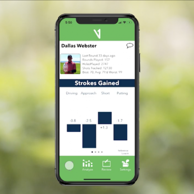Join GolfLife on the Course with V1 Game