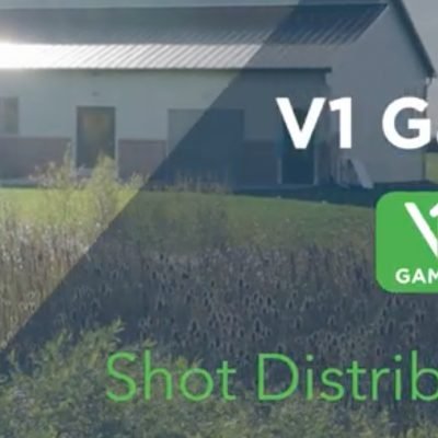 V1 Game Breakout: Shot Distribution