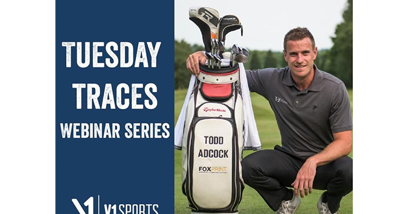 Watch this Week's Tuesday Traces Webinar Series with Todd Adcock