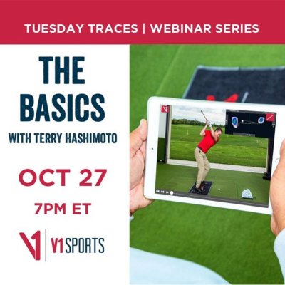 Watch this Week's Tuesday Traces Webinar Series with Terry Hashimoto