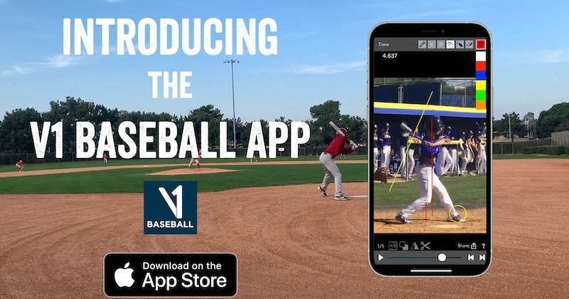 Clayton Kershaw and V1 Team Up to Release V1 Baseball, the Newest Training App in Baseball
