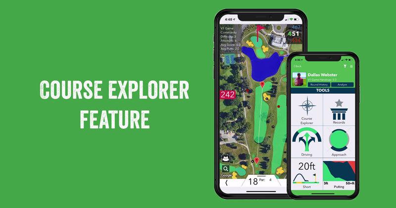 V1 Game – Course Explorer Feature Highlight